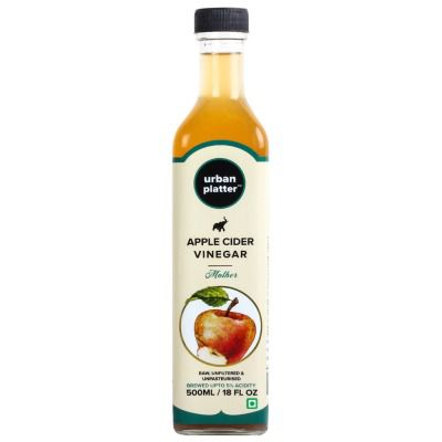 Buy Urban Platter Himalayan Apple Cider Vinegar [Raw, Unfiltered, With the 'Mother']